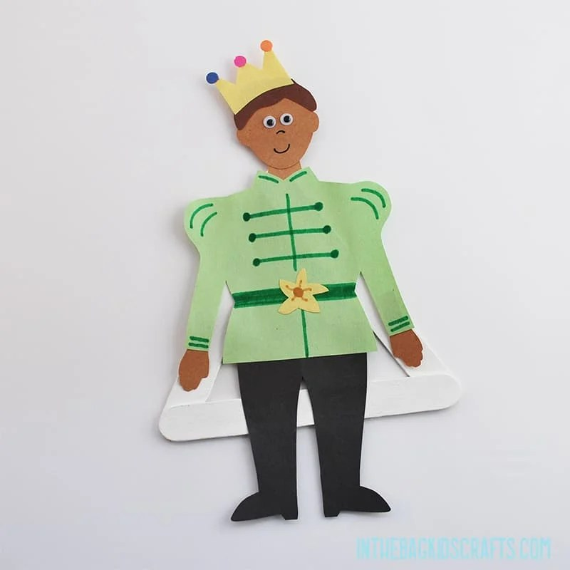 PRINCE FROM THE PRINCESS AND THE FROG