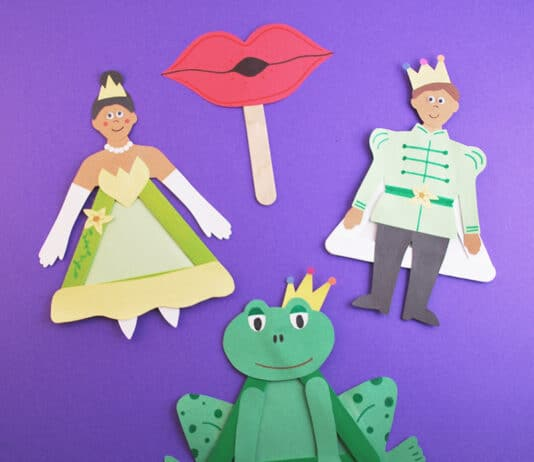 The Princess and the Frog Crafts for Kids