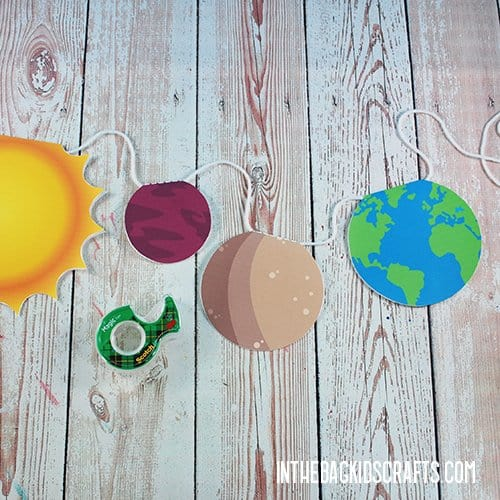 FREE PRINTABLE SOLAR SYSTEM CUT OUTS STEP 4
