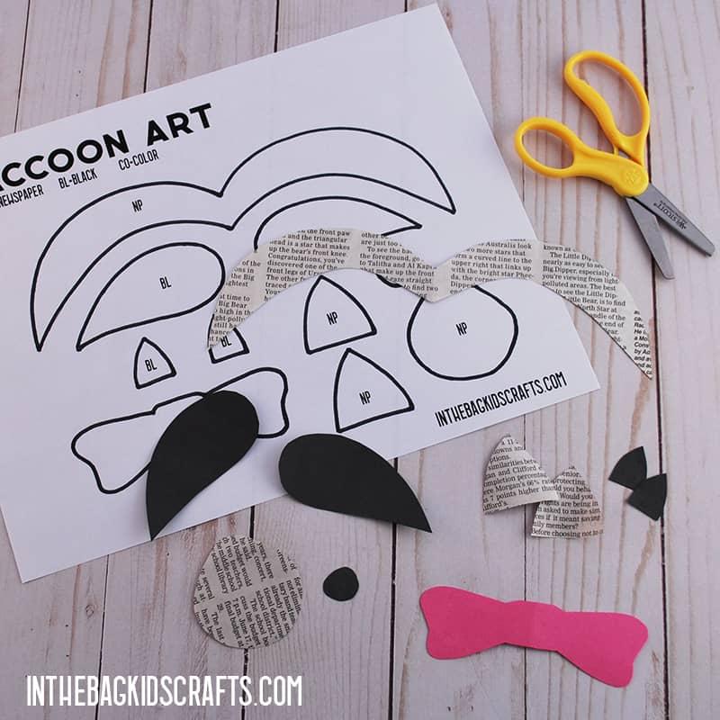 Raccoon Craft Step 2