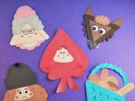 LITTLE RED RIDING HOOD CRAFTS FOR KIDS