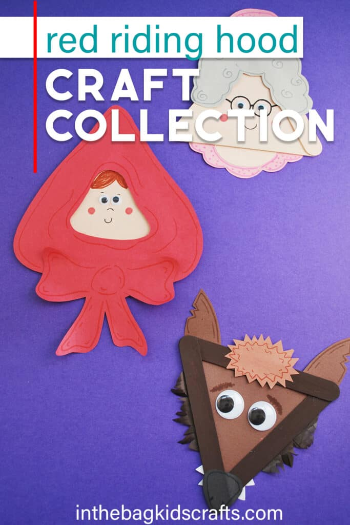 LITTLE RED RIDING HOOD CRAFTS COLLECTION
