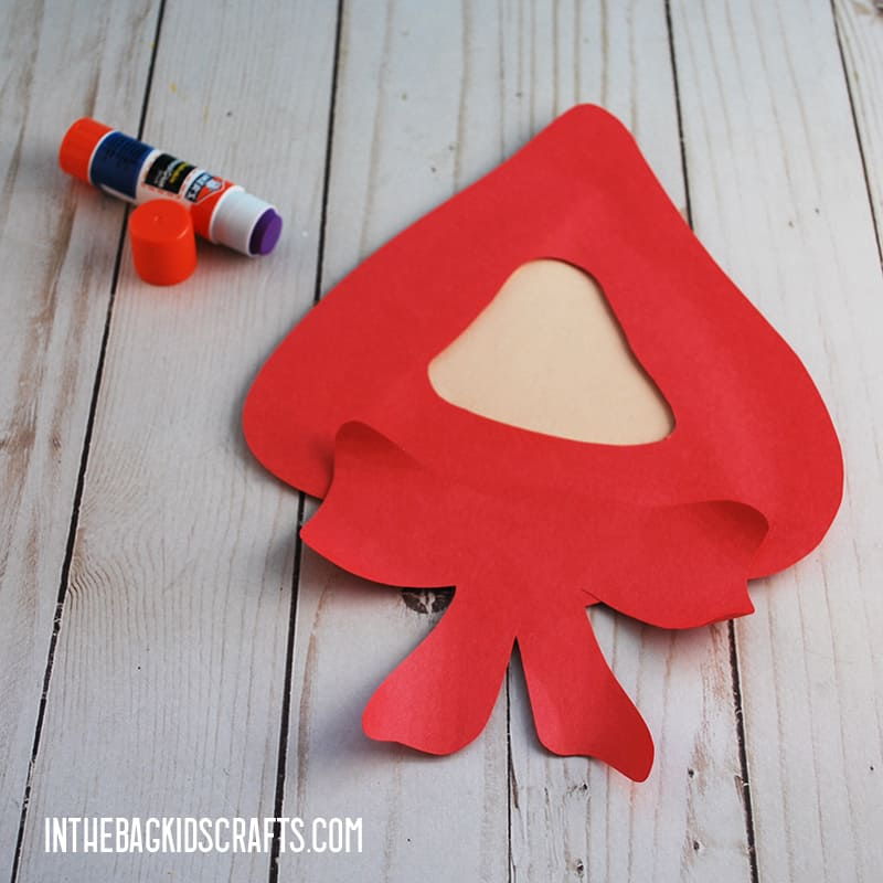 LITTLE RED RIDING HOOD CRAFTS STEP 3