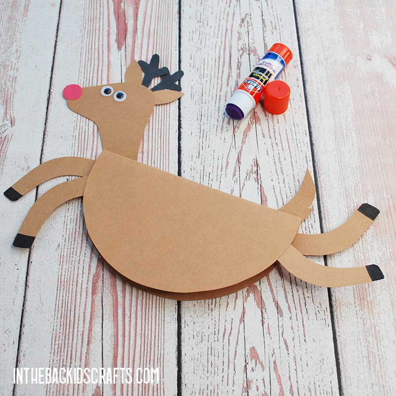 RUDOLPH CRAFT STEP 3