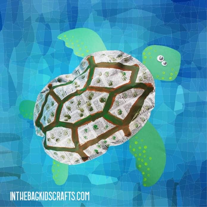 PAPER TURTLE CRAFT