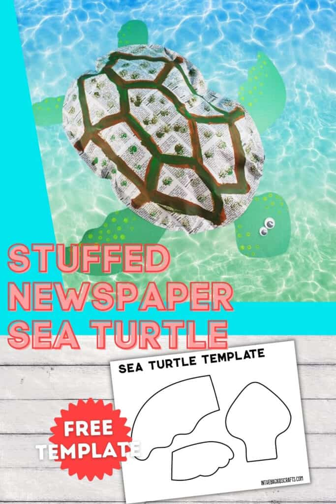 PAPER TURTLE CRAFT FOR KIDS