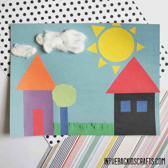 FUN WITH SHAPES ARTWORK FOR KIDS
