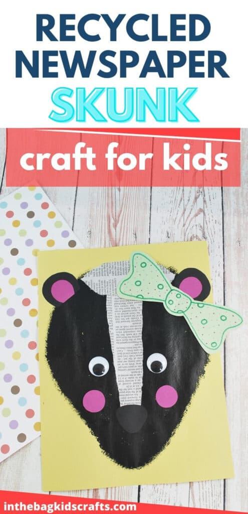 SKUNK CRAFT FOR KIDS