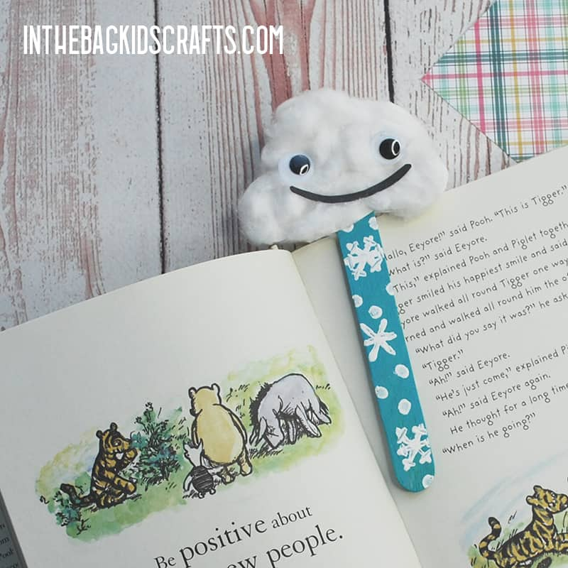 BOOKMARK IDEAS FOR STUDENTS SNOWY BOOKMARK