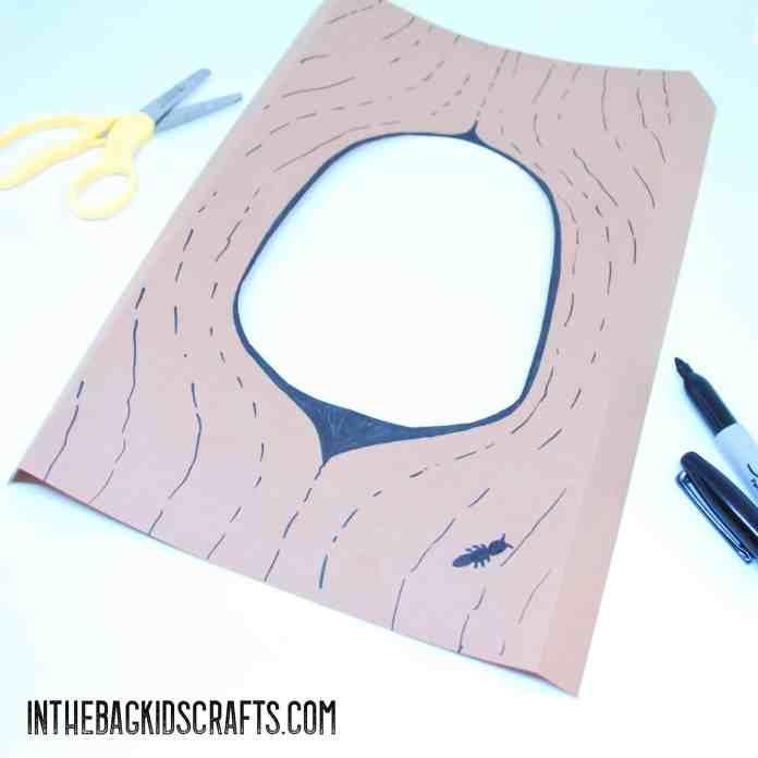 Owl Craft: Step 3