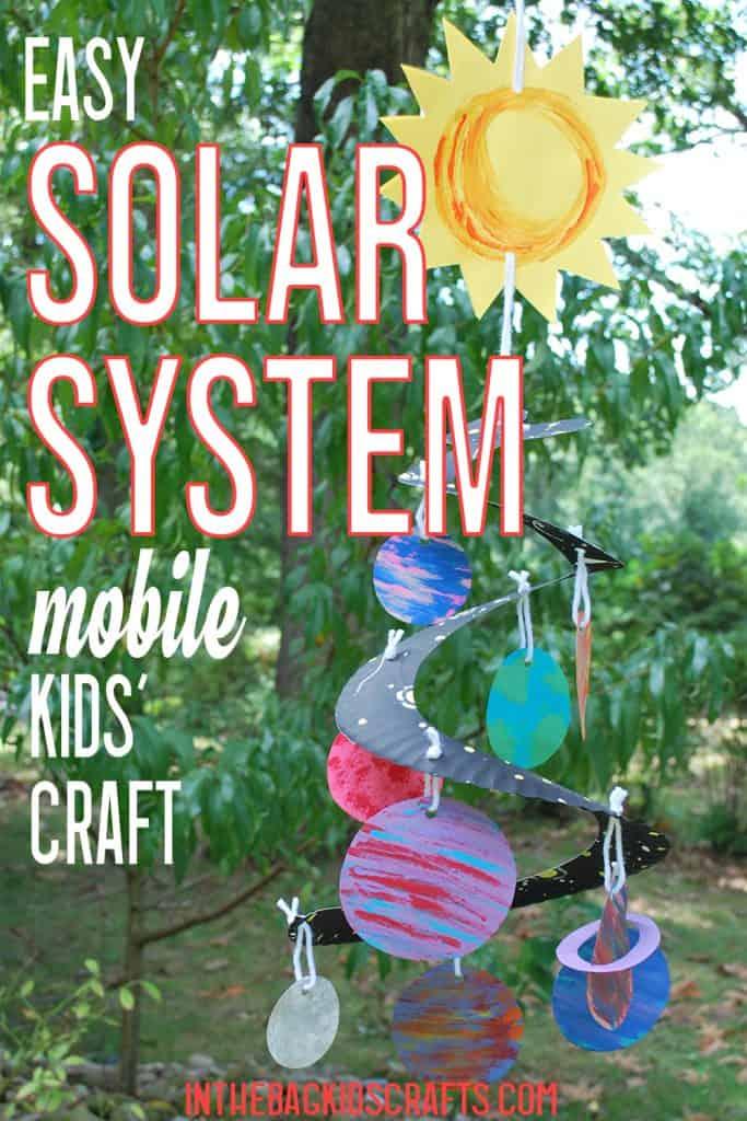 DIY SOLAR SYSTEM MOBILE CRAFT
