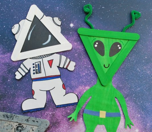 DIY SPACE CRAFTS FOR KIDS