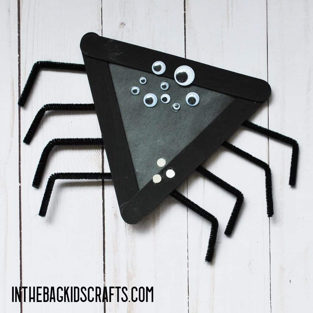 INSECT KIDS CRAFTS SPIDER