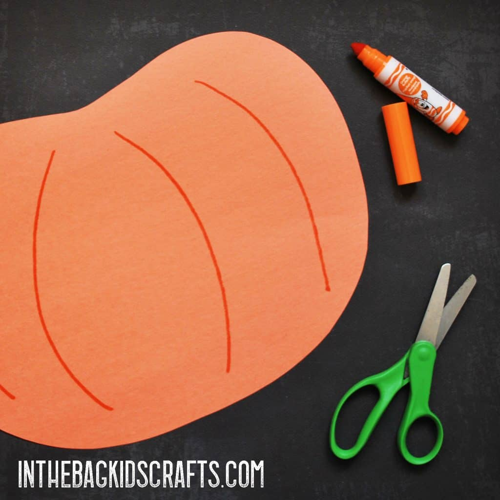 stuffed pumpkin step 1
