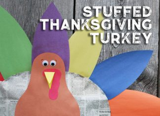 Thanksgiving Turkey Kids' Craft