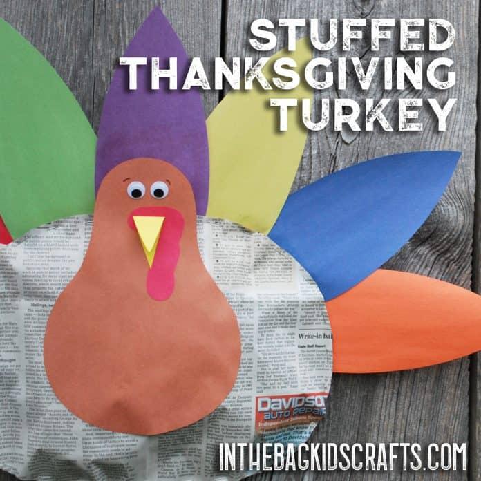 Thanksgiving Turkey Kids' Craft
