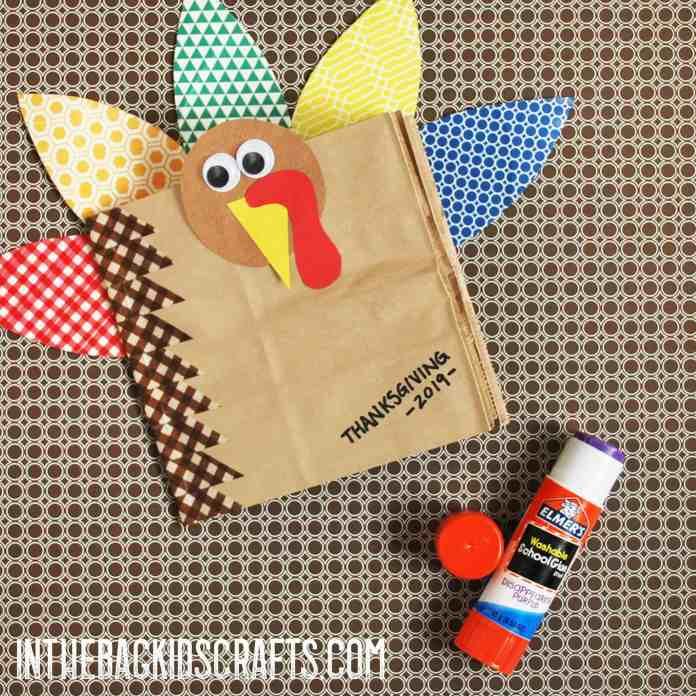 thanksgiving scrapbook step 3