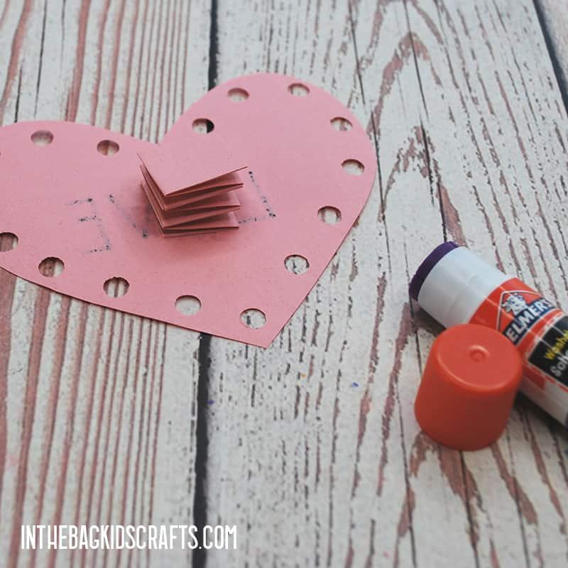 DIY VALENTINE CARDS STEP 5