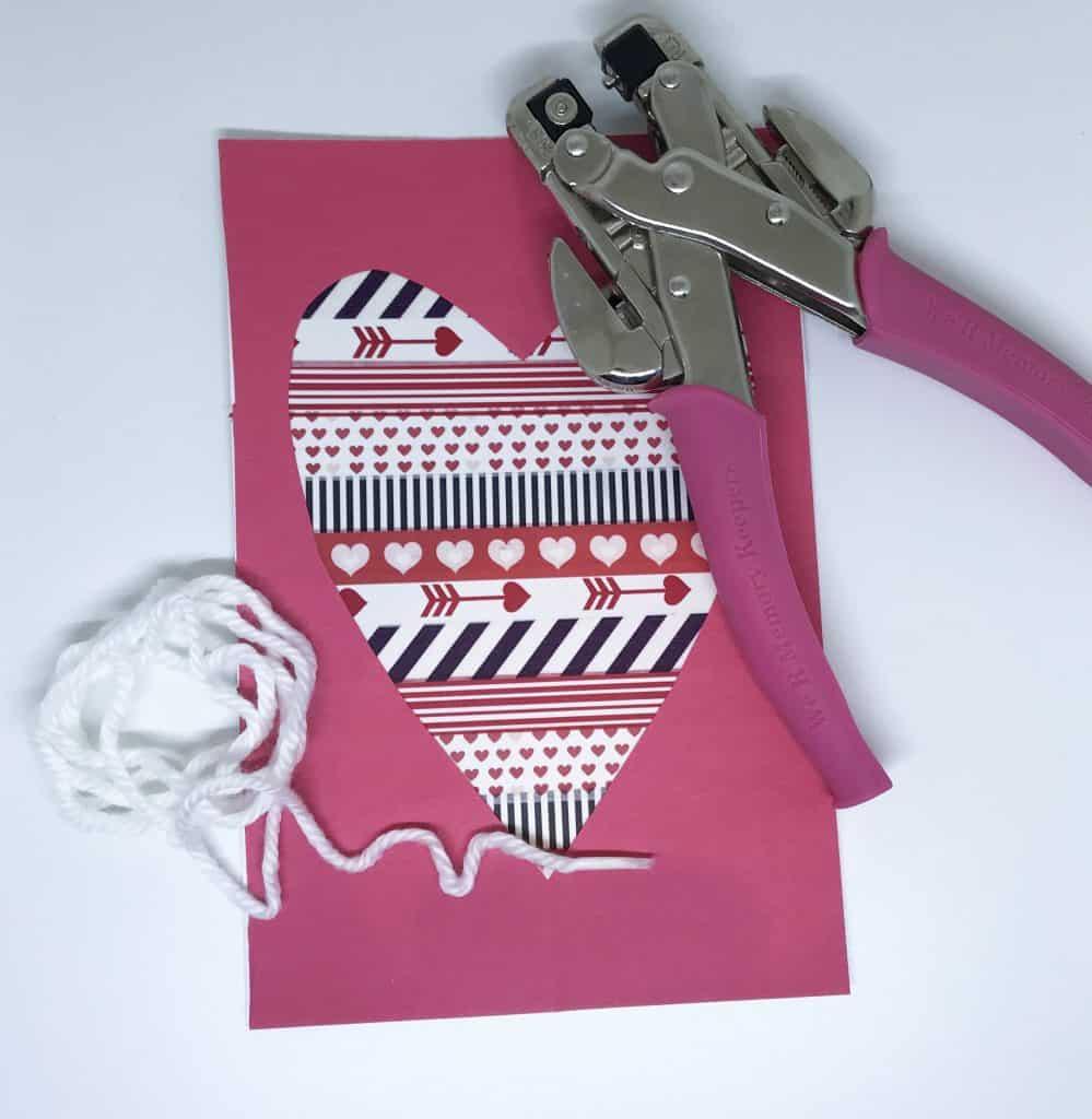 Valentine craft step 4