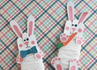 BUNNY CRAFT FOR PRESCHOOLERS