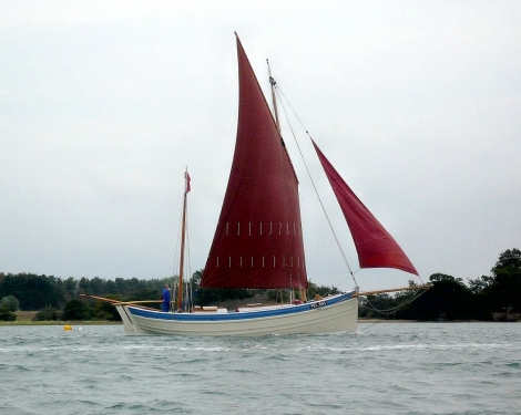 The small zulu Ocean Pearl restored by Nick Gates