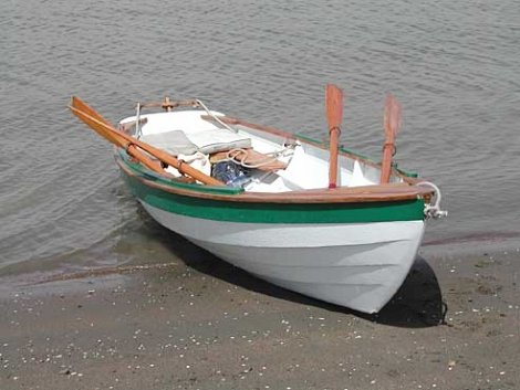 Thorne Luckhard's dory restoration