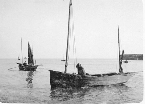Jeff Cole's fishing boats shot