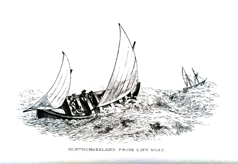 Lifeboat from H C Folkard's The Sailing Boat