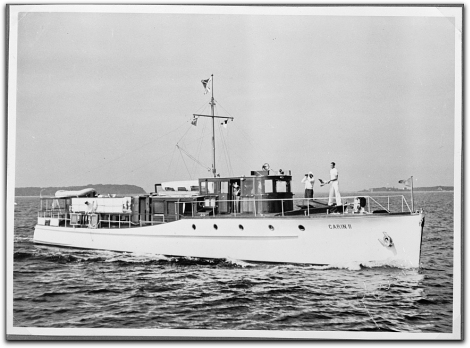 Hermann Goering\'s yacht Carin II
