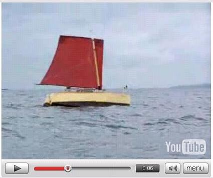 Bill Serjeant's Faith under sail