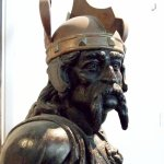 Figurehead of Brennus, from a cuirassée of the same name 1899