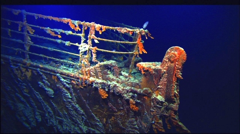 Titanic - photographs by Dr Robert Ballard