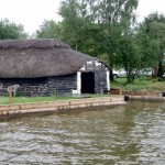 Impressive thatched boat house at Hickling