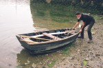 Auray punt photographed at Douarnenez, 2002