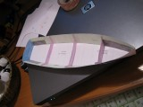 Sunny skiff model made by Aleksey