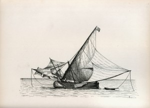 muleta, muletta, moletta, portugal, fishing boat, trawler, lateener, tagus, keble chatterton, water-sails, lugger, st paul, artemon,