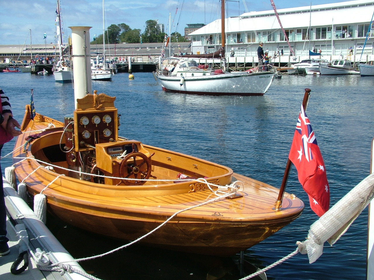 Steamers and veteran motorboats and craft – photos from the Aussie Wooden Boat Show ...