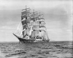 Passat sailing from Falmouth - July 1939