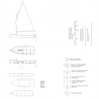 Ella skiff sailing progress 1