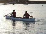 Lyme Regis Boat Building Academy launch Dec 5th 2009 052