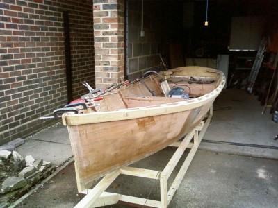 ella skiff, free boat plans, plywood boat, rowing boat, gavin atkin, stitch and glue