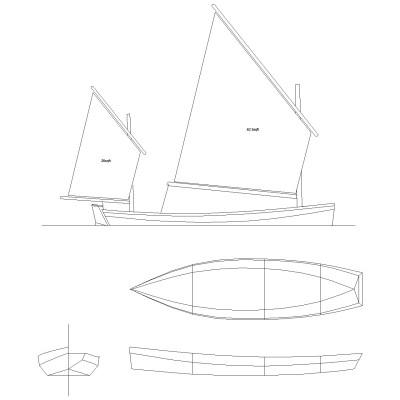 ben crawshaw, gavin atkin, light trow, plywood boat, rowing, sailing, boat plans, free boat plans