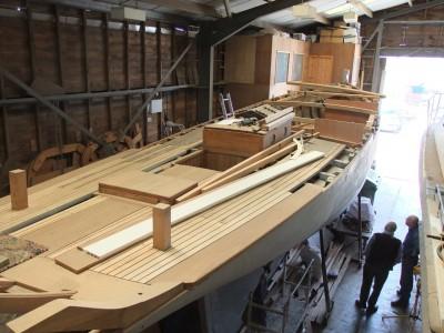 Leila, cutter, victorian, southwold, rob bull, restoration, sail training, appeal, leila trust