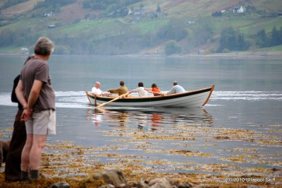 ullapool, ulla, chris perkins, scottish coastal rowing topher dawson, adrian morgan, iain oughtred, scotland, rowing boat, rowing skiff, racing boat, rowing race
