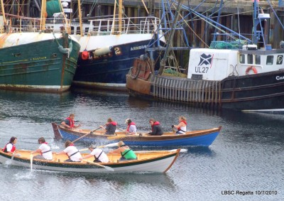 St Ayles skiffs Scottish Coastal Rowing