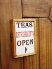 The Kingswear Castle's tea room is open