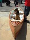 James Downs - strip-built Canadian Canoe