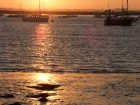 Dusk at the mouth of the Deben