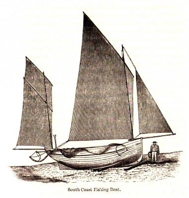 South Coast lugger