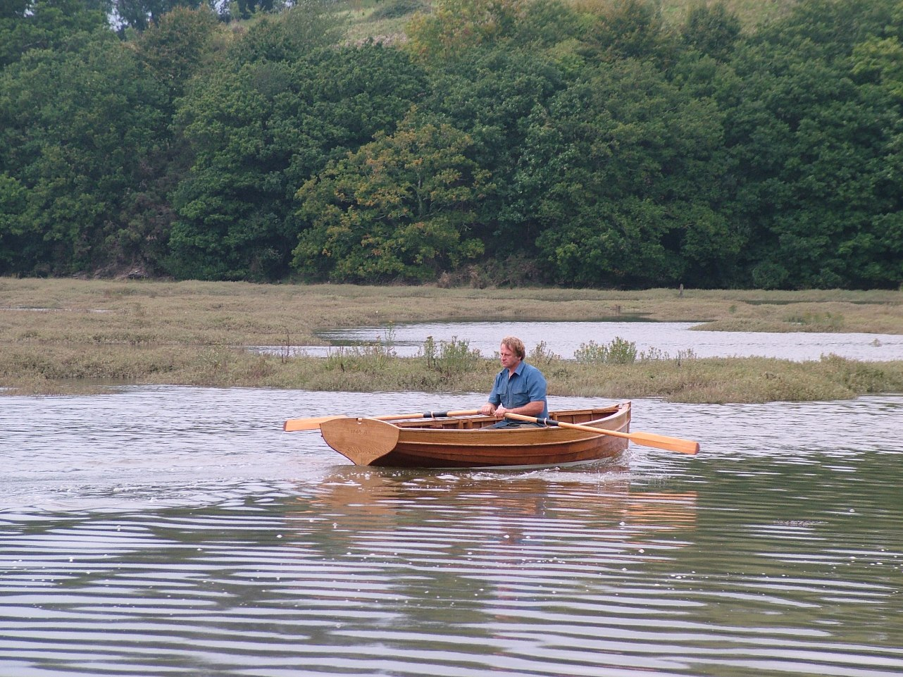 12ft rowing dinghy built by Stirling & Son of Tavistock ...